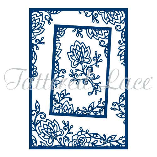 Tattered Lace Dies - Shabby Offset Rectangles - TLD0189 - Stephanie Weightman